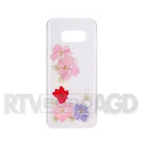 Etui FLAVR iPlate Real Flower Grace do Samsung Galaxy S8 Plus Wielokolorowy (28689) (4029948060101)