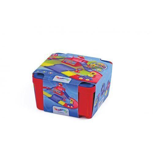 Viking toys Viking city garaż z torami w pudełku (7317670455409)