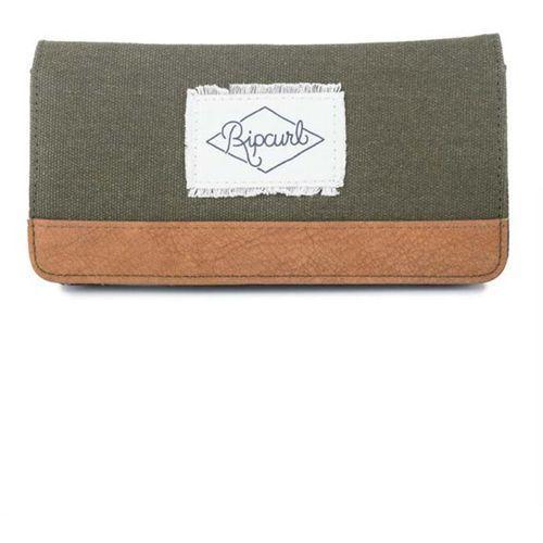 Portfel - fresno big wallet dusty green (9457) rozmiar: os marki Rip curl