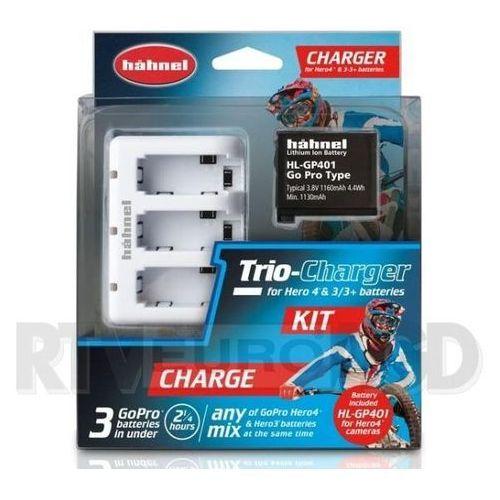 Hahnel  trio charger kit (hł trio charger kit) darmowy odbiór w 20 miastach! (5099113105929)