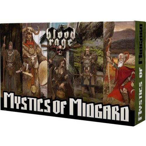 Blood rage: mistycy z midgardu portal marki Portal games