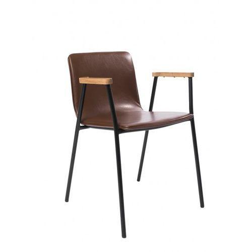 Signu design krzesło ira brązowe