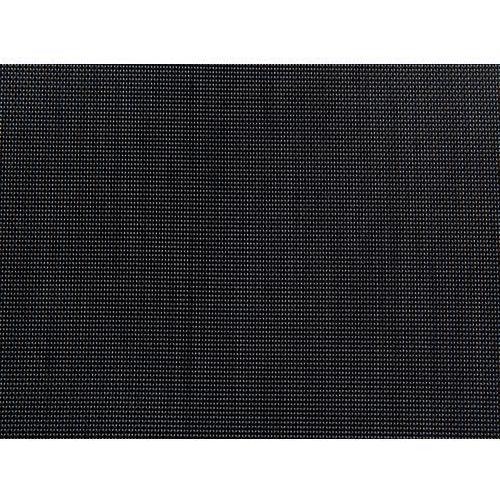 Beliani Zestaw ogrodowy szklany blat 180 cm 6 osobowy czarne krzesła GROSSETO