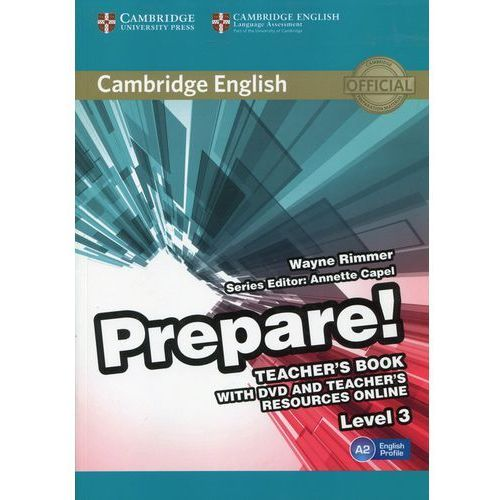 Prepare! 3 Teacher's Book with DVD and Teacher's Resources Online - Wayne Rimmer