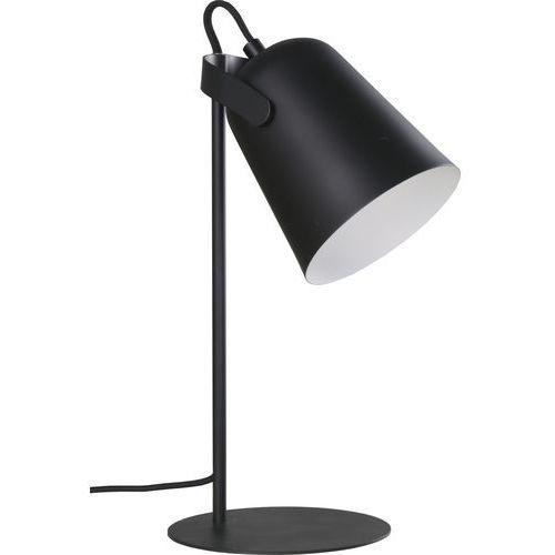 OKAZJA - Stojąca LAMPA biurkowa SIRI LP-4227/1T BLK Light Prestige metalowa LAMPKA stołowa czarna, kolor Czarny