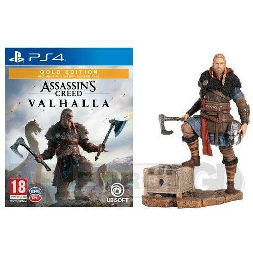 Assassin's creed valhalla złota edycja + figurka eivor ps4 marki Ubisoft