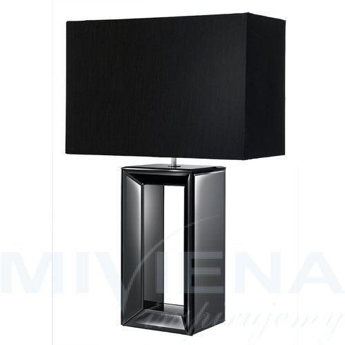 Searchlight Mirror lampa stołowa czarny