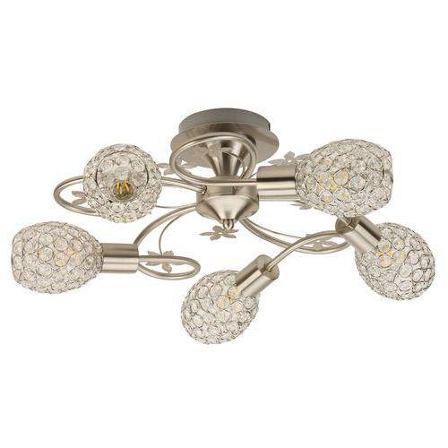 Krislamp Bella KR 371-5PL plafon lampa sufitowa 5x40W E14 satyna