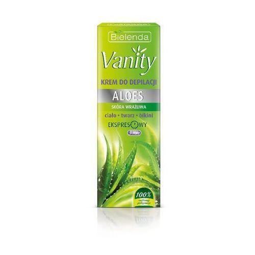 Bielenda, Vanity, Aloes, krem do bezpiecznej depilacji skóry wrażliwej, 100 ml, kup u jednego z partnerów