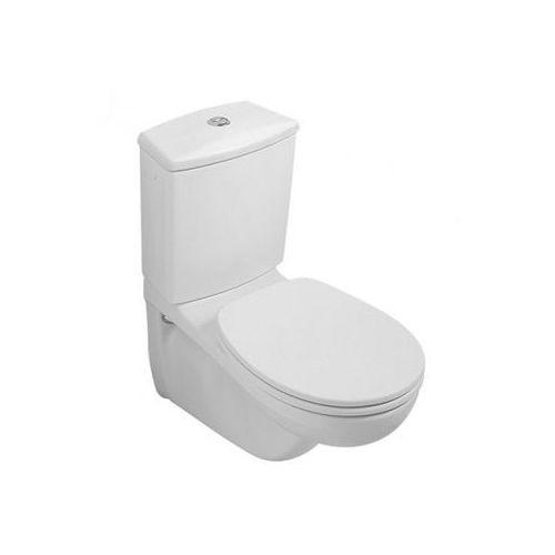 o.novo miska ustępowa lejowa do wc-kompaktu 35,5x68 cm - weiss alpin (66231001) marki Villeroy & boch