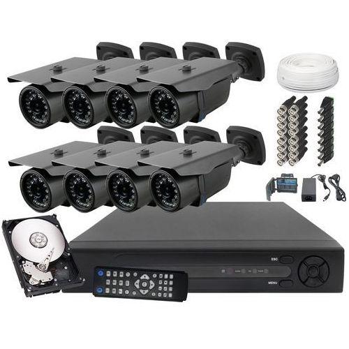 Zestaw do monitoringu 8x kamera fullhd z ir do 30m dysk 1tb wyprodukowany przez Ivel