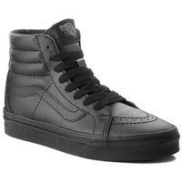 Sneakersy - sk8-hi reissue vn0a2xsbpxp (classic tumble) blk mono marki Vans
