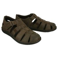 06-0231-00-0-07-00 brązowy, sandały męskie marki Nik