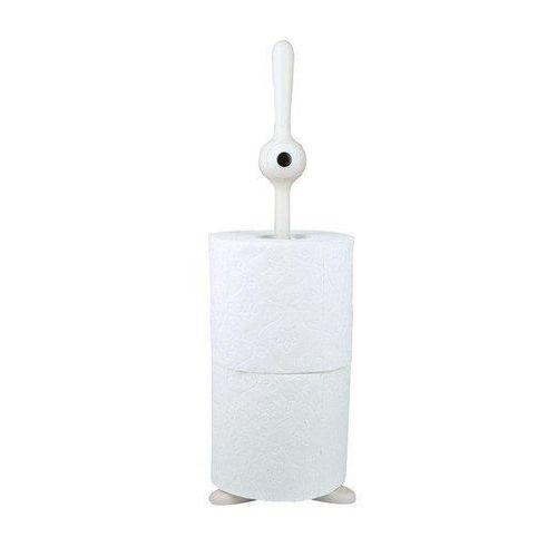 Stojak na papier toaletowy biały toq marki Koziol