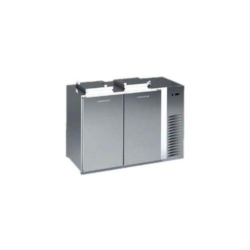 Schładzarka na odpady z dnem izolowanym 3x120 l, 2280x716x1176 mm | DORA METAL, BLOD-3120