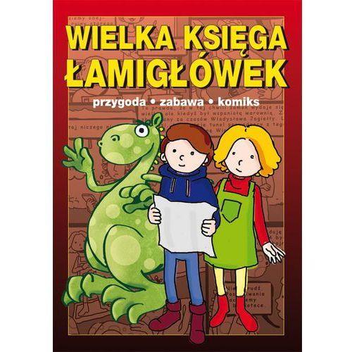 Wielka księga łamigłówek - Guzowska Beata, Jagielski Mateusz (9788378988038)