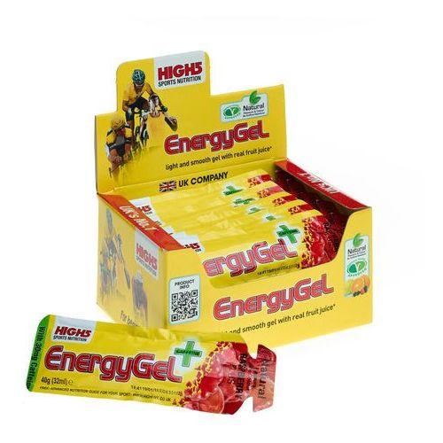 energygel plus żywność dla sportowców raspberry 20 x 40g 2018 zestawy i multipaki marki High5