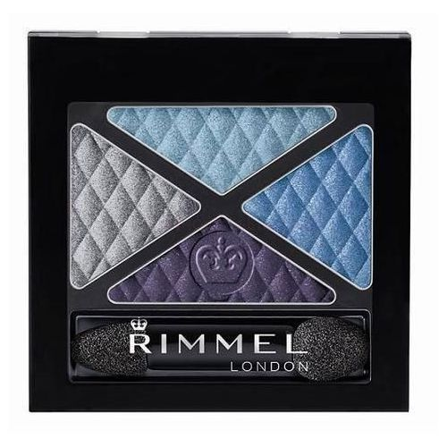 Rimmel London Glam Eyes Quad Eye Shadow 4,2g W Cień do powiek 014 Bold Behaviour