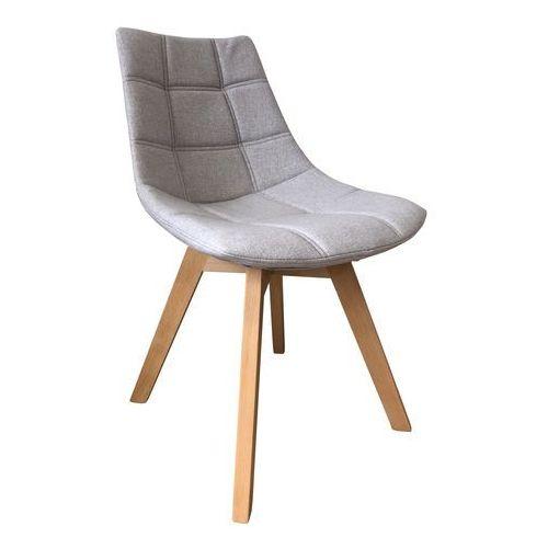 Krzesło tapicerowane gaja grey marki Exitodesign