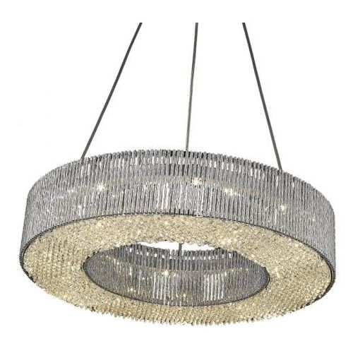 Zuma line Lampa wisząca carlo pendant p0207-08a zumaline (silver) (2011005666595)