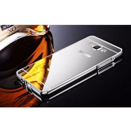 Mirror Bumper Metal Case Srebrny | Etui dla Samsung Galaxy Grand Prime - Srebrny (Futerał telefoniczny)