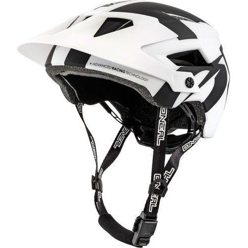Oneal defender 2.0 kask rowerowy biały/czarny l/xl | 59-61cm 2018 kaski rowerowe (4046068514239)