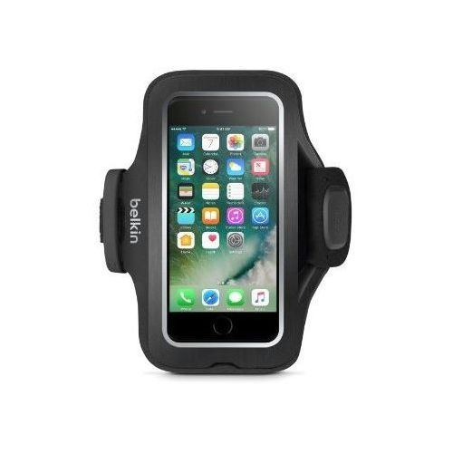 Belkin Slim-fit Pro Armband iPhone 7 black, kolor czarny