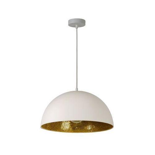 Lucide 05415/40/31 - lampa wisząca elynn 1xe27/60w/230v biała (5411212050748)