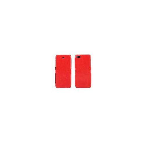 ADVANCED ACCESSORIES Etui FOLIO FLIP Ultra Slim dedykowane do Apple iPhone SE/5S/5 - czerwone Odbiór osobisty w ponad 40 miastach lub kurier 24h