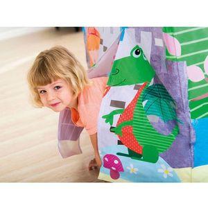 Domek dla dzieci z okienkiem dżungla 95 x 75 x 107 cm INTEX 45642