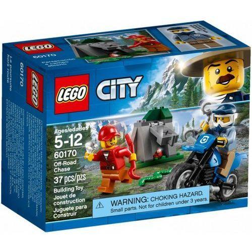 60170 POŚCIG ZA TERENÓWKĄ (Off-Road Chase) KLOCKI LEGO CITY