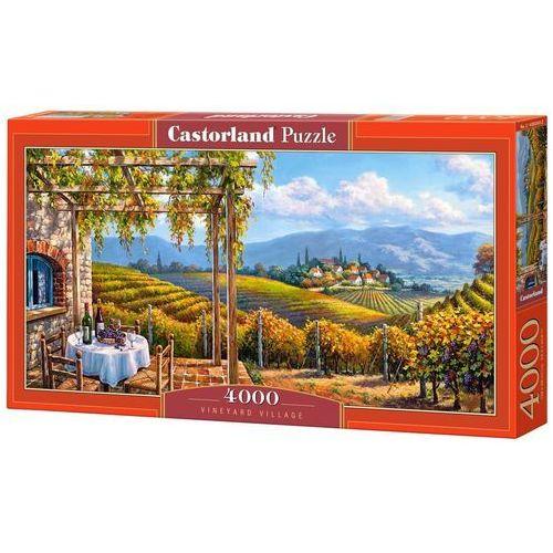 Castor Puzzle 4000 el.:vineyard village - darmowa dostawa kiosk ruchu