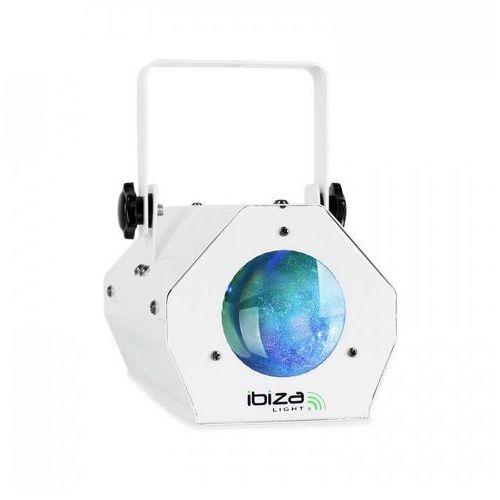 Efekt świetlny Ibiza LCM003LED Moonflower RGBWA biały (5420047122216)