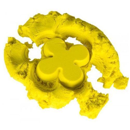 Piasek kinetyczny 1kg w woreczku żółty - żółty marki Nieznany