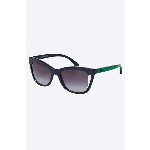 - okulary marki Emporio armani