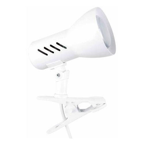 Lampa stołowa lampka klips Spot Light Clamspot 1x60W E27 biała 2110102K (5907795179520)