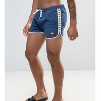 swim shorts with taping exclusive to asos - navy marki Ellesse
