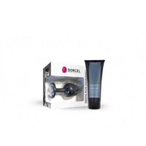 Marc dorcel (fr) Dorcel - geisha plug diamond l + mixgliss max 70 ml (zestaw)