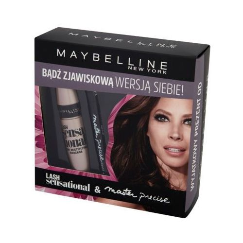 new york lash sensational & master precise zestaw kosmetyków dla kobiet (maskara + liner) marki Maybelline