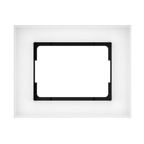Dpm Ramka pojedyncza szklana vilma r01g biała (4779101518061)