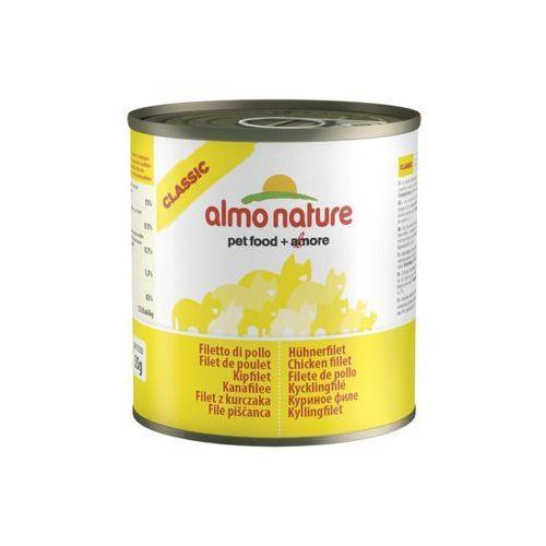 ALMO NATURE Filet z kurczaka - puszka 6x280g