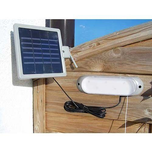 Solaris Lampa solarna z wyłącznikiem do ogrodu altanki