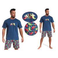 Piżama męska siesta: granat marki Cornette