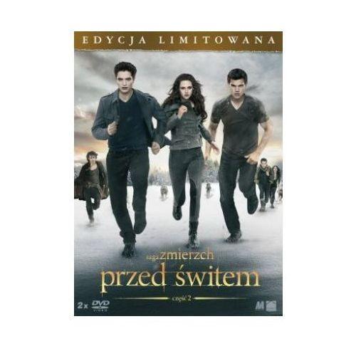 Saga Zmierzch: Przed świtem. Część 2. 2 DVD (The Twilight Saga: Braking Down) (5907561139833)