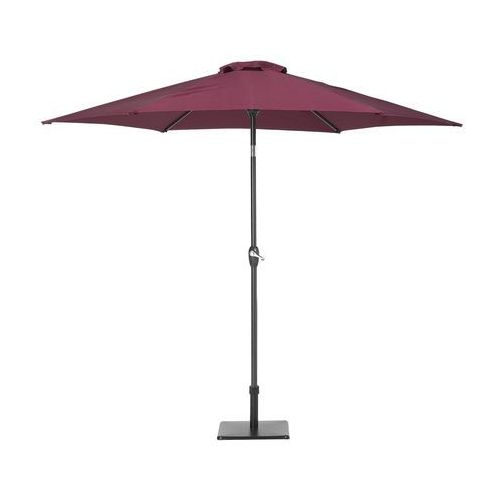 Parasol ogrodowy Ø270 cm burgundowy VARESE
