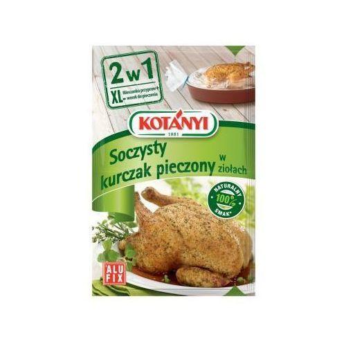 Mieszanka przypraw z workiem do pieczenia 2w1 Soczyste udka z kurczaka 25 g Kotányi