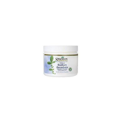 Swanson Buffered Sodium Ascorbate Vitamin C Powder 120g
