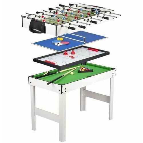 Stół do gier 4 w 1: piłkarzyki, bilard, tenis, cymbergaj marki Krakpol