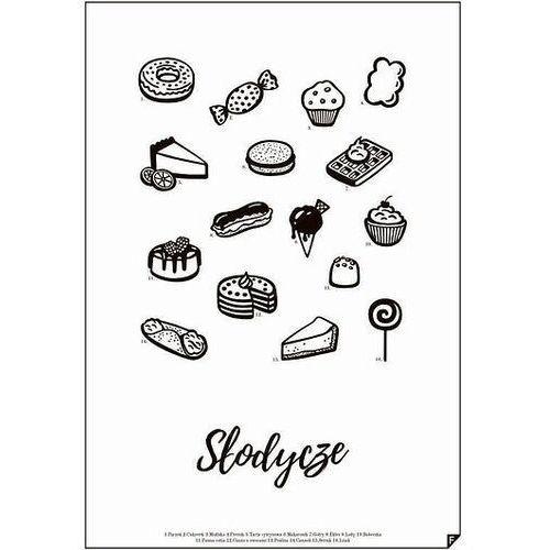 Plakat słodycze 30 x 40 cm marki Follygraph