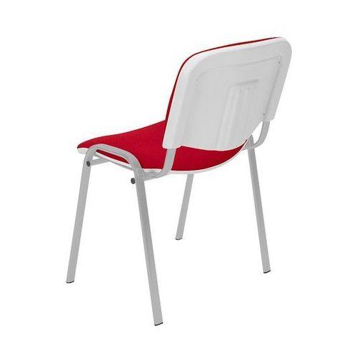 Nowy styl Krzesło iso bianco chrom